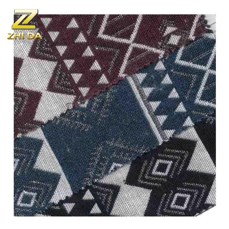 Cheap poly cotton yarn dyed patchwork fabric from china for furniture