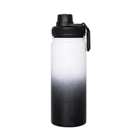 32Oz Stainless Steel Vacuum Insulated Wide Mouth Water Bottle/Thermos Powder coated