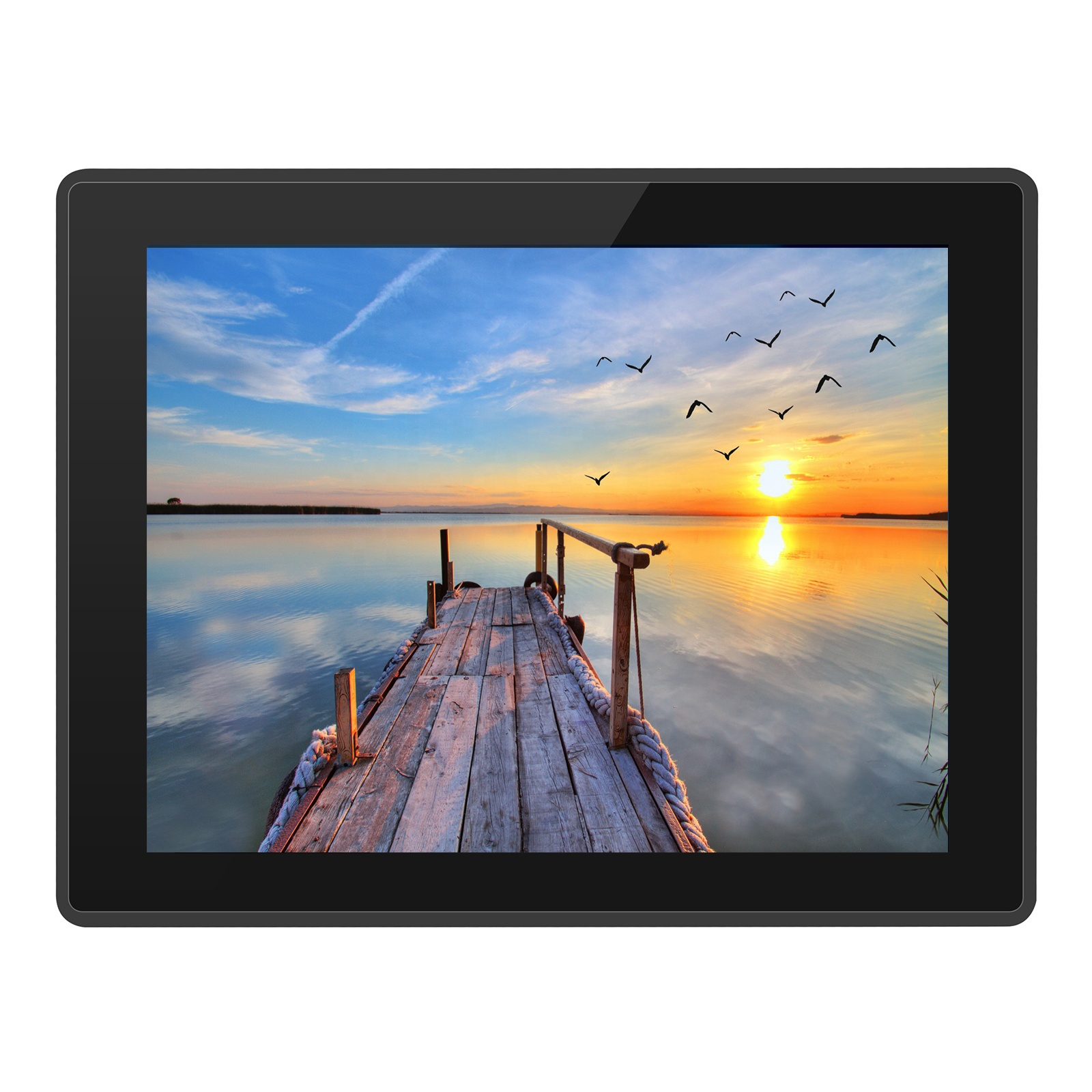 ECSUU 10.1inch Intel 7th 3855U core i3 i5 i7 cpu wall mount IP68 touch screen industriële mini alle in een panel pc
