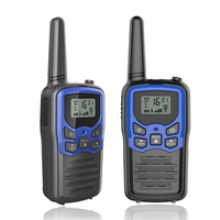 Latest unique design handheld best high talk range 10km walkie talkies for adults for gifts, sports., games