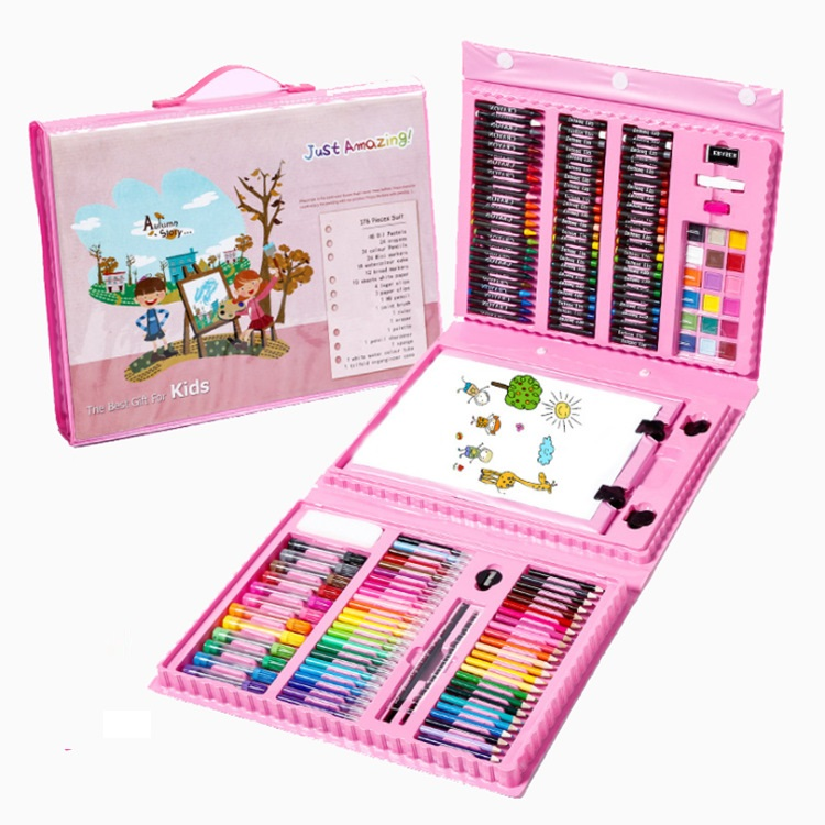 Горячая Распродажа, цветной карандаш, пастельный Канцелярский набор для детей, школьные принадлежности, детский цветной набор карандашей