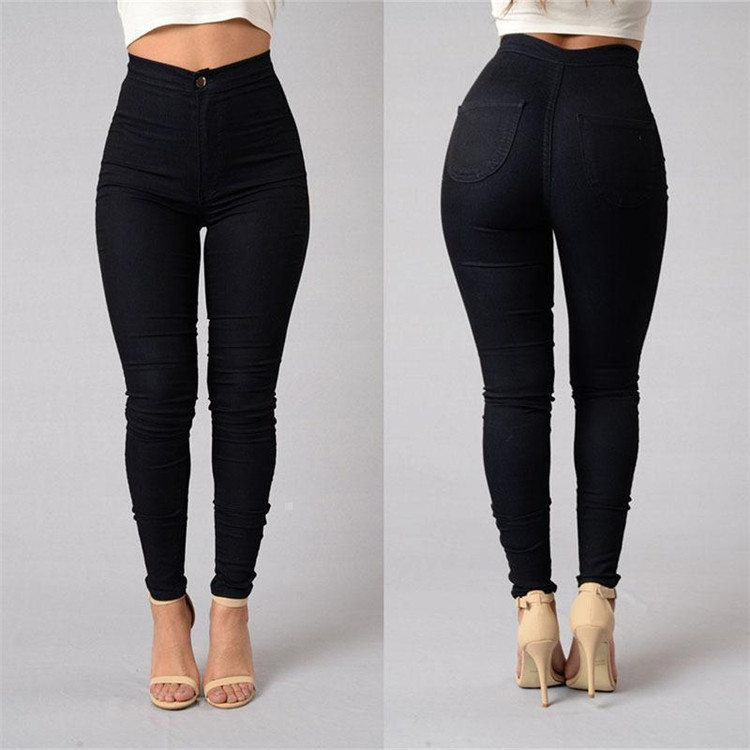 New arrival women's candy color skinny pants lady pencil pants trousers for women
