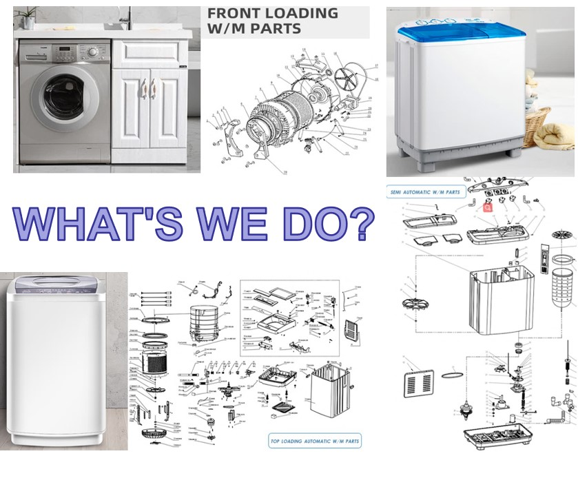 Front Top Loading Buy Spares Washing Machine Parts For Whirlpool Sharp Haier Lg