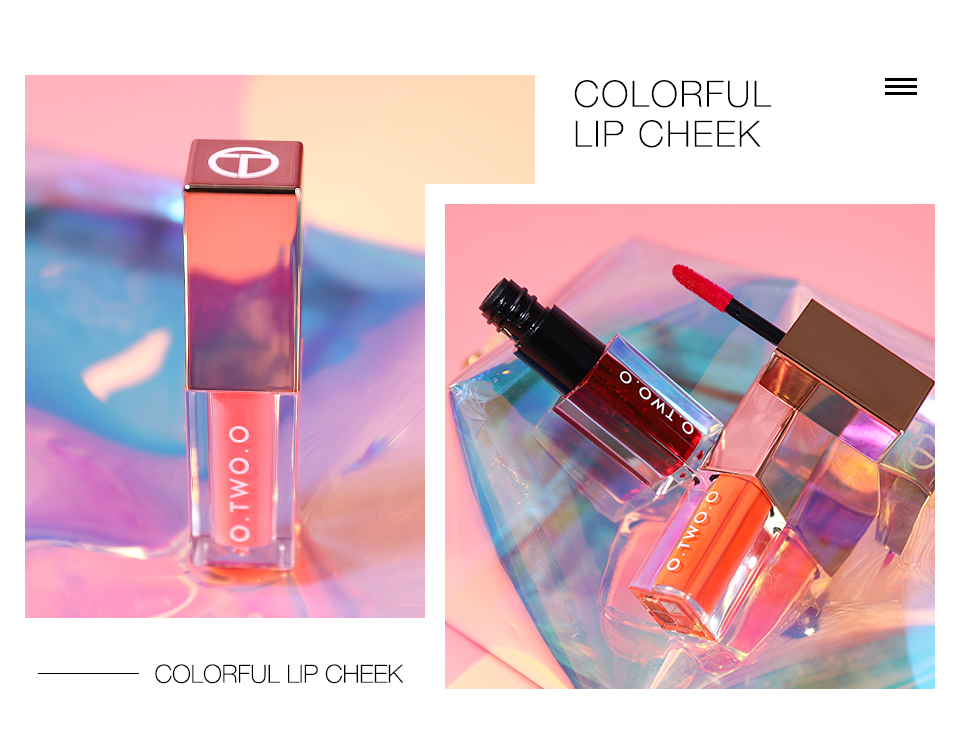 O.TWO.O Lip Water Tint Lip Makeup Long Lasting Lip Tint Lipgloss