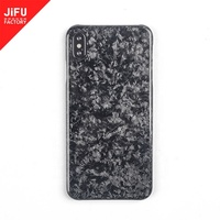 Factory OEM/ODM luxury carbon fiber accessories full cover design not affect signal forged carbon fiber case for iPhone XS/ Max