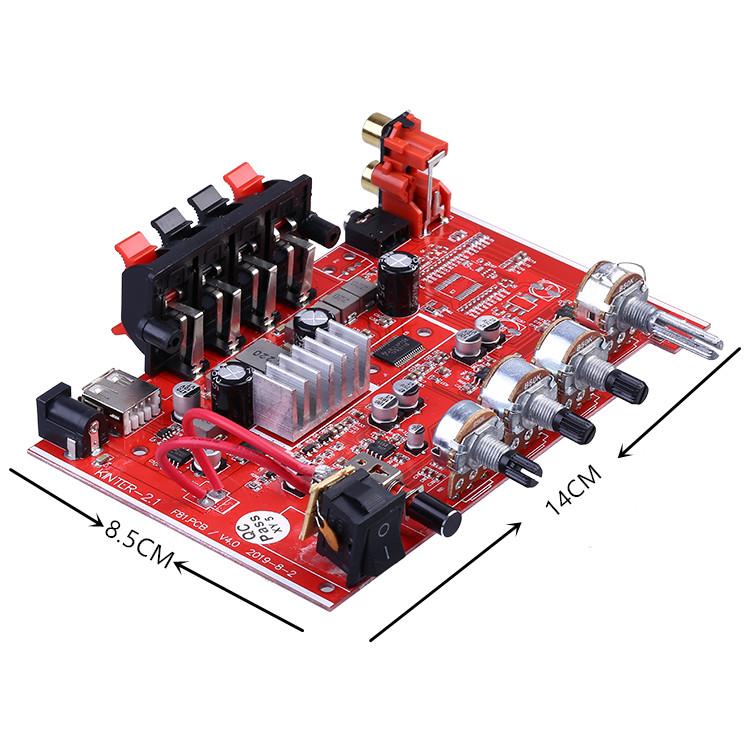 Kinter 2.1 HIFI ดิจิตอล TPA3118 ลำโพงซับวูฟเฟอร์