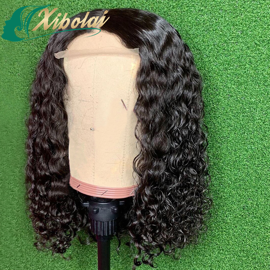 Original raw human hair wigs for black women,body wave bob lace frobnt wigs,Wholesale brazilian Human Hair lace front Wigs
