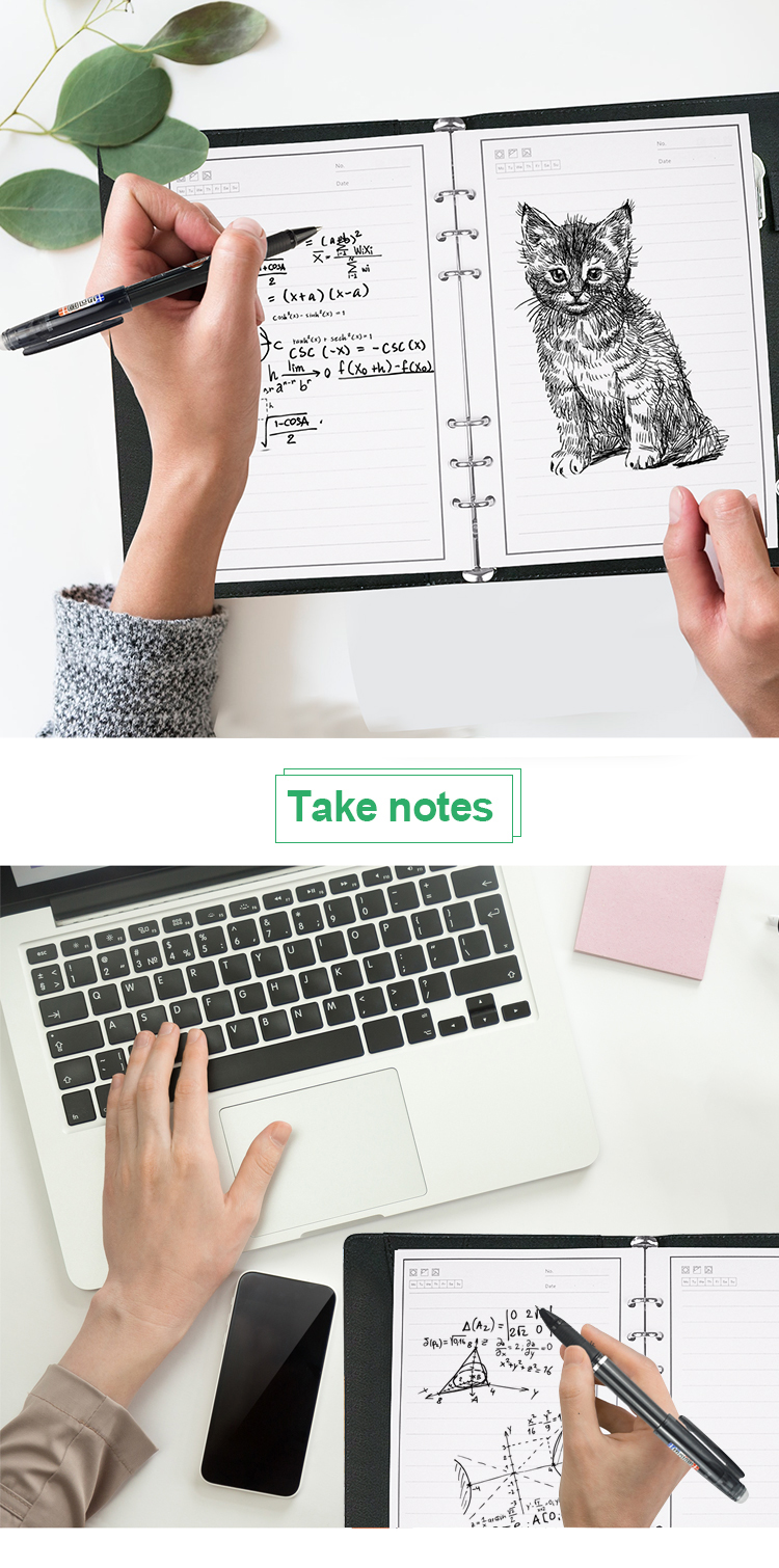 Customizable A5 Leather Reusable Smart Wireless Powerbank Notebook Notepad With Charging
