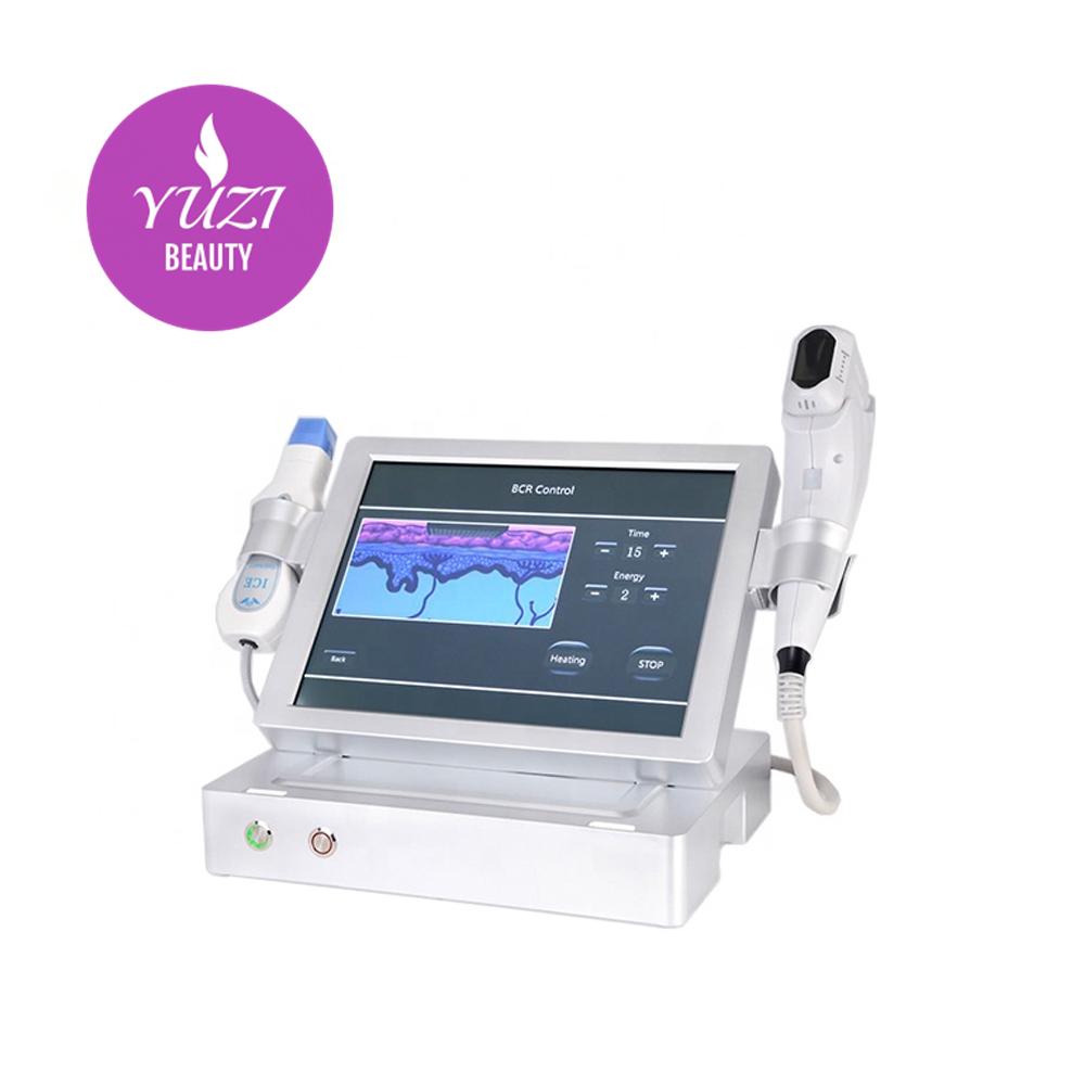 CE certificated 4D Hifu Facial lifting ultrasound hifu face lift machine with Fractional RF  high performance