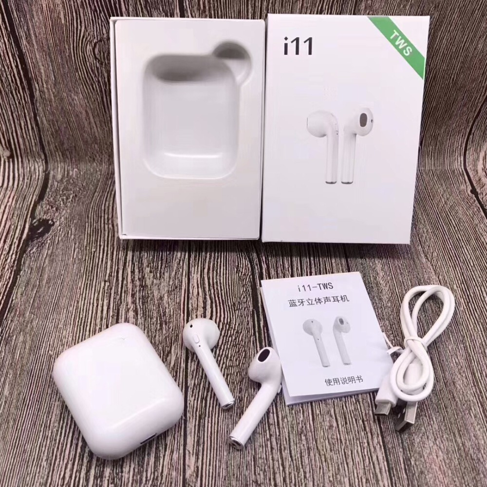 2019 Hot earphone inpods 12 earphone i7s i9s i11 i12 Tws Wireless invisible earbuds factory price earphone