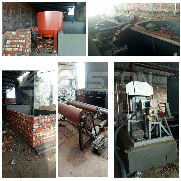 Waste paper recycling molded paper pulp egg tray production machine in india