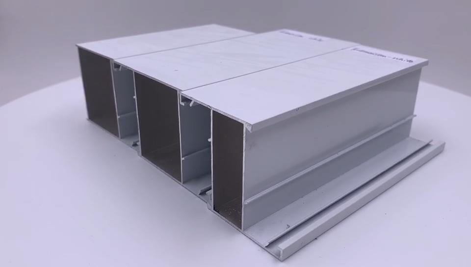 Dye Sublimation Coating Aluminum Alloy Profiles Decorative Aluminium Profile For Glass Roof