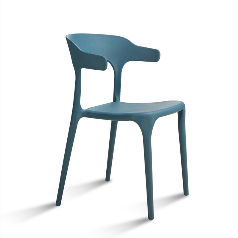 Low Price Modern Stackable Plastic Furniture Stacking Restaurant Diner Dining Chair Luxury