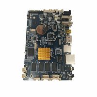 Custom 4 layer android Advertising billboard motherboard Android 4.4 Amlogic S802 PCB Circuit Board