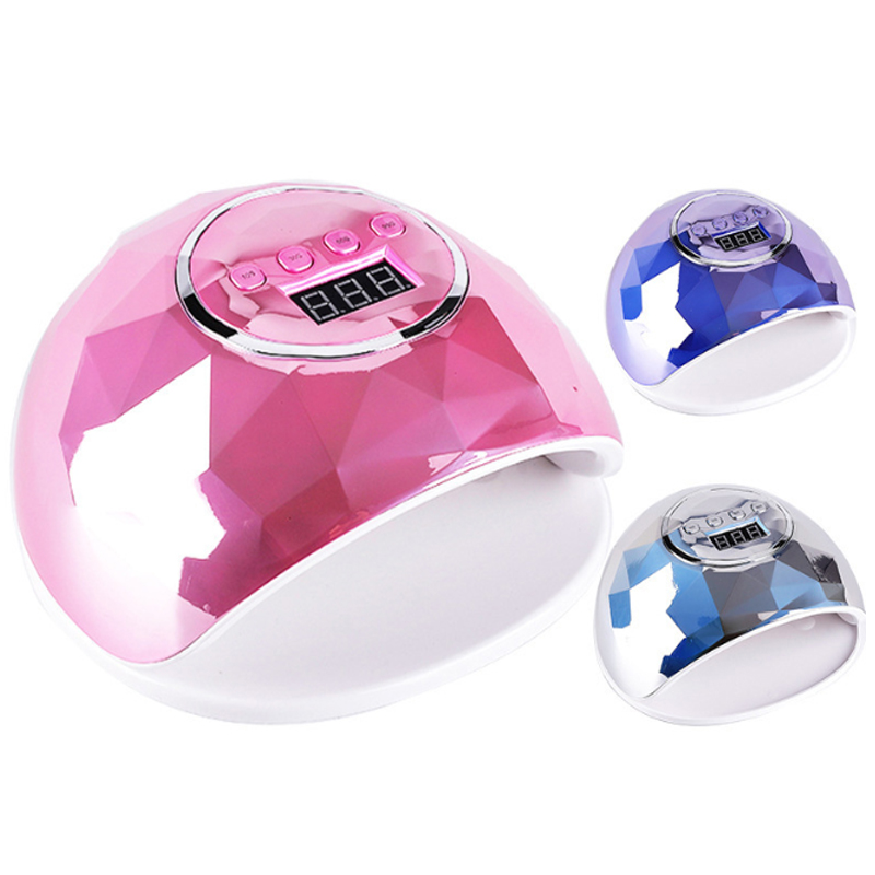2021 Amazon Top seller 86w pro cure dual light uv led gel dryer nail lamp for manicure UV nail lamp nail set kit with uv lamp