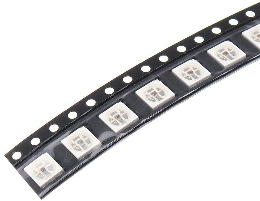 New Arrive HD107S ( Dotstar APA107 upgraded version ) full color replace APA102 5050 NS107S RGB Digital pixel SMD LED Chip