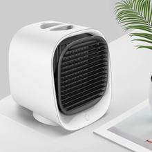 Настольный мини Кондиционер USB вентилятор увлажнитель воздуха увлажняющее охлаждающее устройство портативный вентилятор для домашнего оф...(Китай)