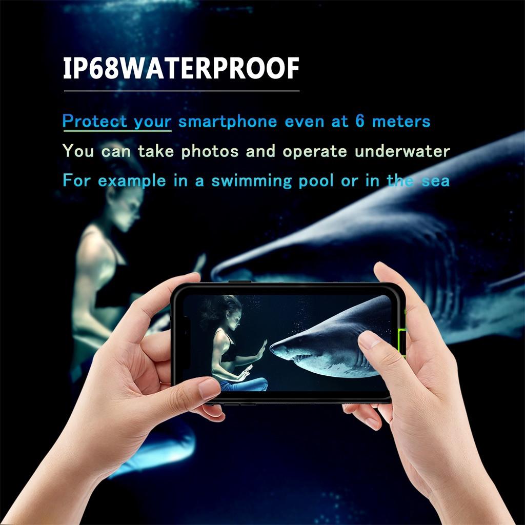 Чехол прозрачный Анти-чехол от царапин защитная крышка для iPhone 11 Pro 5,8 Inch Водонепроницаемый Противоударная крышка чехол(Китай)