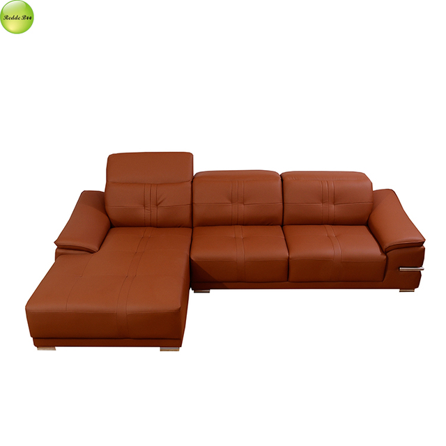Brown Pure Leather Sofa