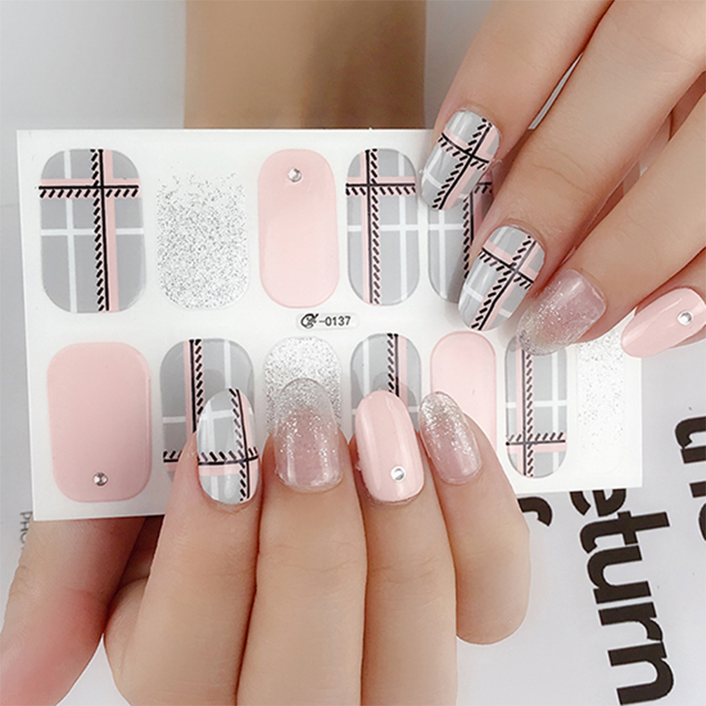 Beautysticker New Arrival Cheap Price Korean <strong>Nail</strong> <strong>Sticker</strong> Customized Waterproof <strong>Nail</strong> Art Manufacturer From China