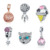 New Arrival 925 Sterling Silver Pendant Fashion Charms