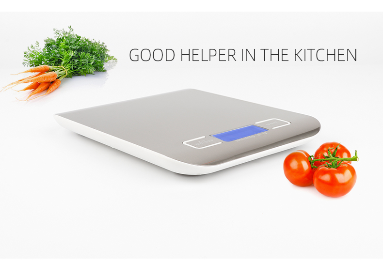 The newest electronic digital food weighing kitchen scale with unique design