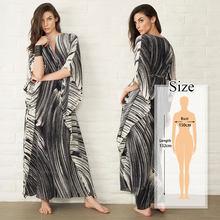 2020 быстросохнущее черное индийское народное вышитое длинное летнее пляжное платье марокканский кафтан размера плюс женская пляжная одежд...(Китай)