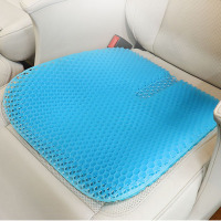 Summer cooling ergonomic orthopedic honeycomb gel cushion seat