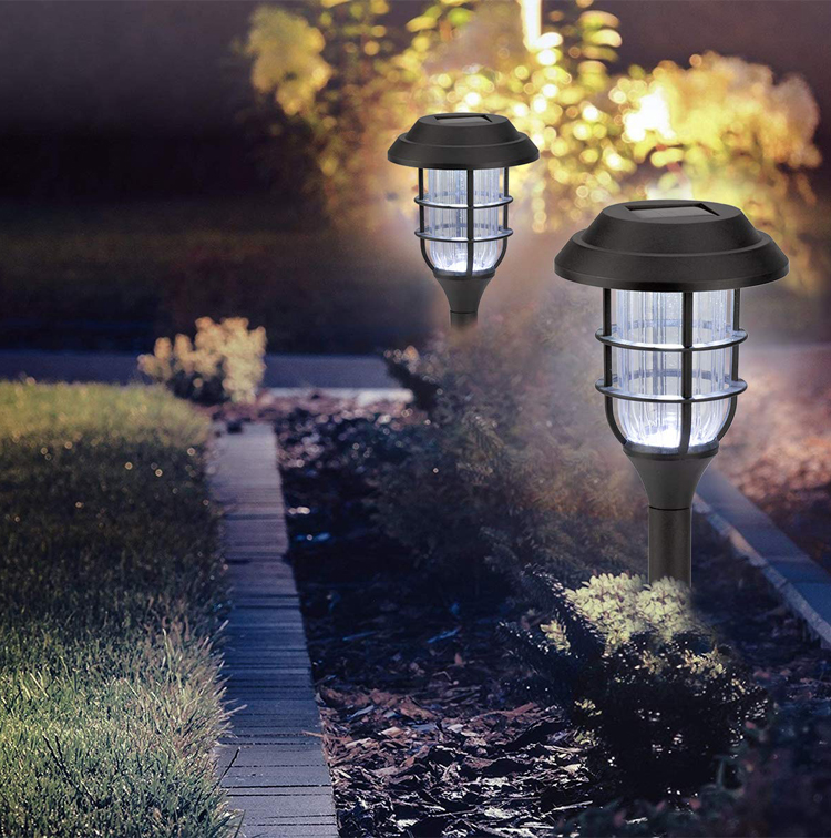 2020 Hot Selling  Modern European Design 1.2v Warm White Outdoor Garden Path Solar Led Low Voltage Landscape Lights