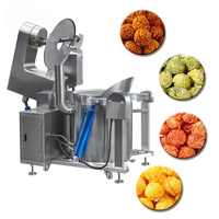 Industrial Large Capacity Commercial Caramel Mushroom Popcorn Machine For Sale