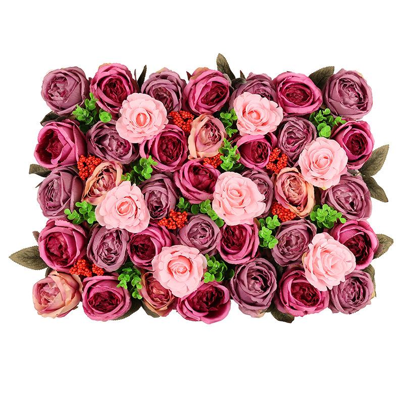 ขายส่งดอกไม้ผ้าไหมประดิษฐ์สำหรับงานแต่งงานตกแต่งดอกไม้