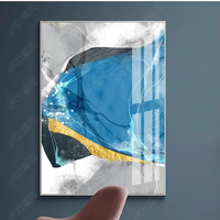 Wall Painting With Frame For Living Room Canvas Wall Acrylic Abstract Picture modern art hanging Abstract decorative painting