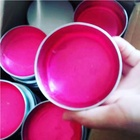 Private label hair pomade women create pink super hold with water based wax edge control