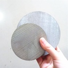 316 L Stainless steel sintered metal powder porous fluidized plate fluidizing mesh