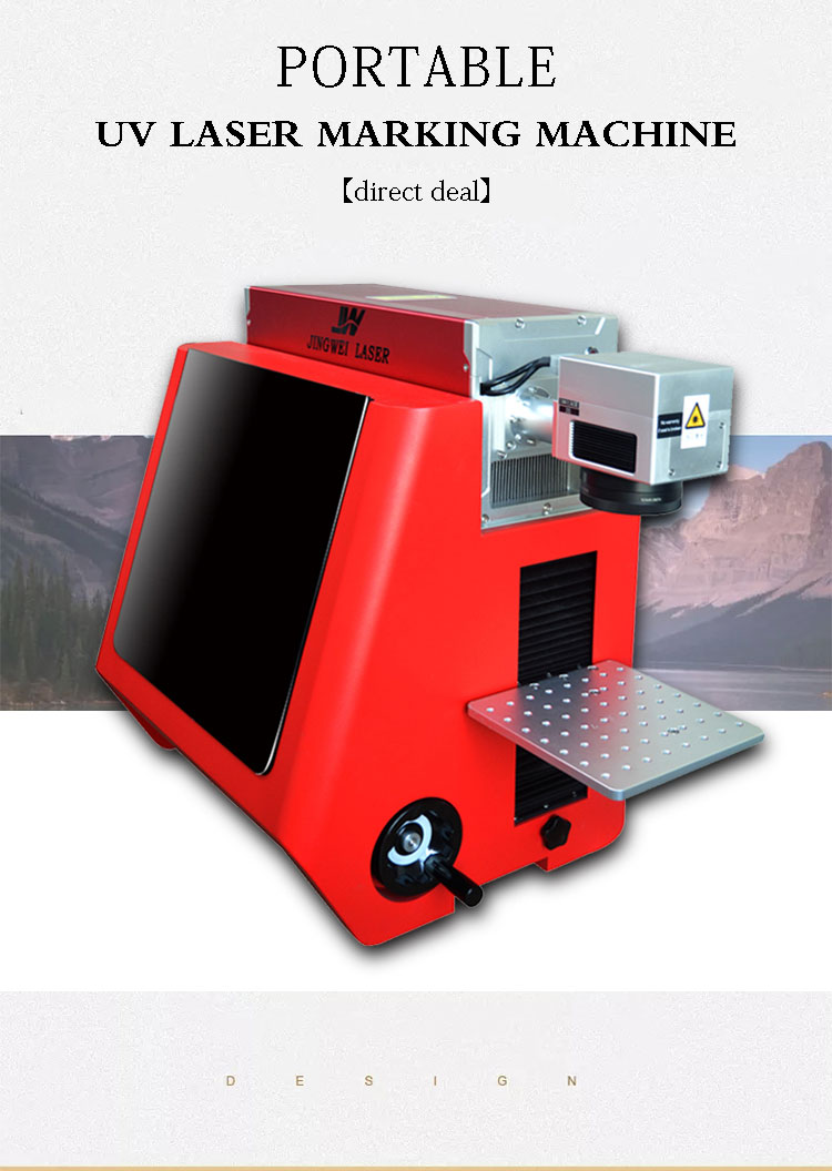 Good Price UV Laser Marking Engraver Machine for All Material 7W