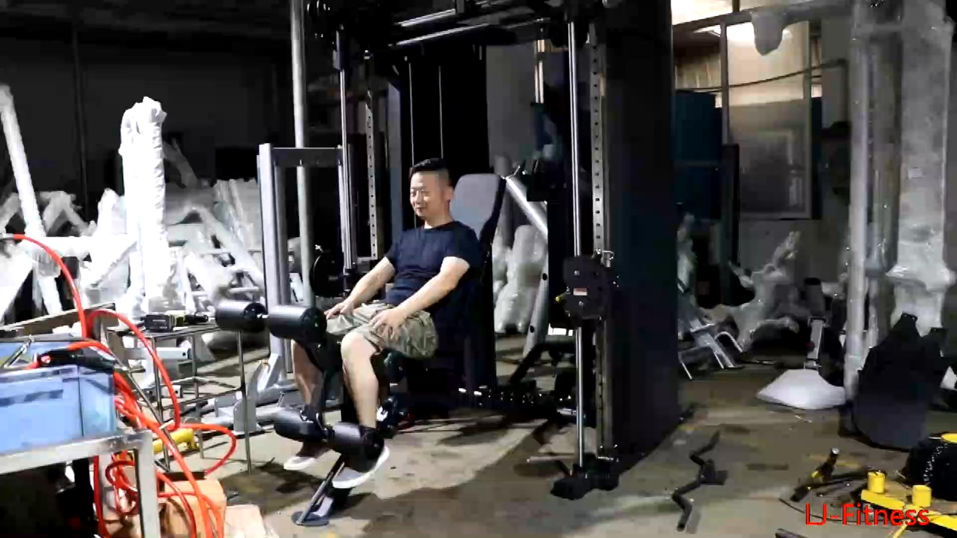 יוקרה חדשה סגנון מסחרי רב תפקודי מאמן כוח מתלה חדר כושר ציוד מכונת תרגיל