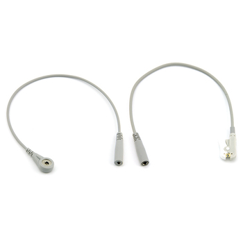 ECG electrode adapter cable , snap / clip , CE & ISO13485