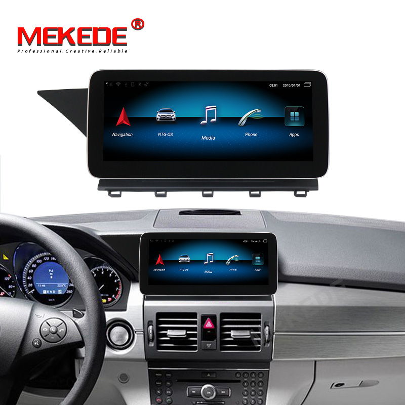 MEKEDE MSM 8953 Android 10 4G LTE Auto dvd player für Benz GLK Klasse X204 2008-2012 NTG 4,0 4 + 64G DSP Carplay wifi gps BT
