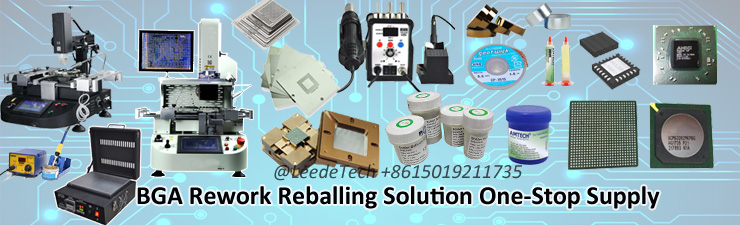 BGA Reballing Kit for Laptop PS3 PS4 80*80 Reballing Stencils Fixture Universal BGA Stencil Kit Flux Paste BGA Solder Ball
