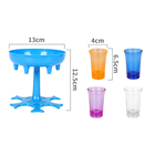 Drink Dispensers 6 Shot Glass Dispenser And Holder  Party Accessories 6 Ways Shot Glass Dispenser