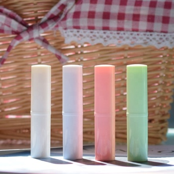2019 New DIY 5ML Empty Lip Balm Tubes Cosmetic Container Lipstick Tube Glue Stick Clear Travel Bottle
