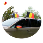 high quality cheap Professional Custom Printing polyester Germany auto car window flag