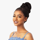 long style braid hair Synthetic Wig HD Lace Front box braided wigs for black women best seller in US