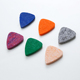 3mm 4mm Ukulele felt pick plectrum wool guitar pick with 6 colors optional