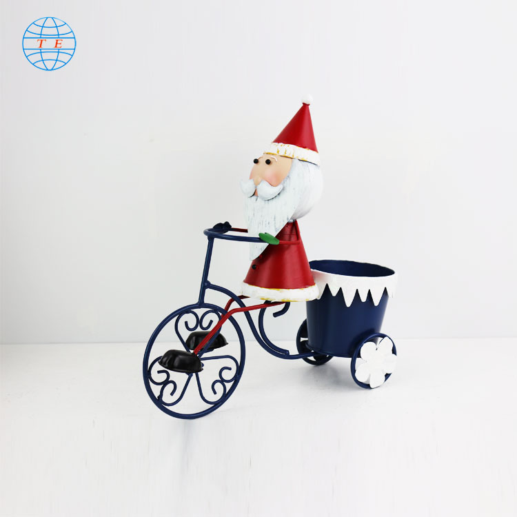 Creative popular Christmas ornaments cheap metal Christmas decorations