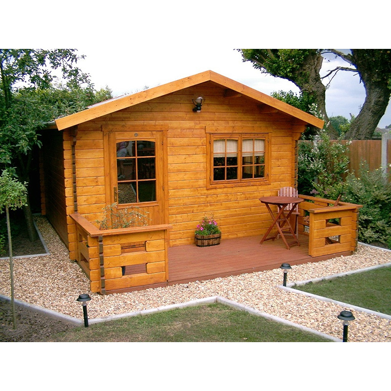 lost cost log cabins wooden house prefabricated villa for Britain