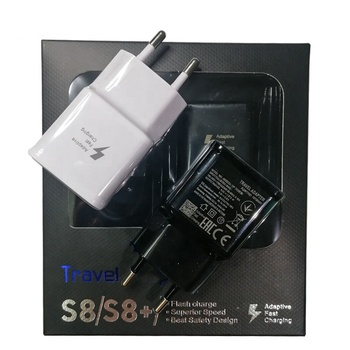 For Samsung Original S6 S8 S10 Adapter Charger US/EU/UK Plug Travel Wall USB Charger Adapter Galaxy Note 10 8 9 Fast Chargering