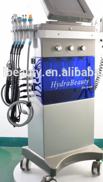 Горячая Распродажа 9 в 1 Hydra дермабразия машина для кожи многофункциональный гидро сыворотка машина для средств по уходу за кожей