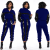 Sequin Patchwork Two Piece Tracksuit Set Women Long Sleeve Glitter Top and Trousers Set Autumn Sexy 2 Piece Pants Sets