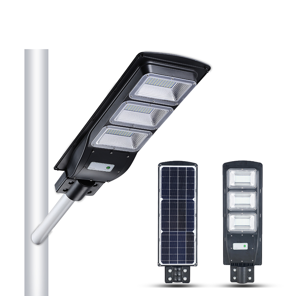 BOSUN New products IP65 20w 40w 50w 60w 80w waterproof led lighting all in one solar street light